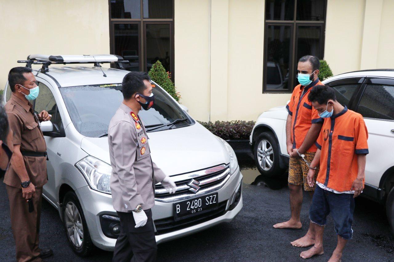 Dua Warga Wonosobo Jadi Tersangka dalam Kasus Penipuan Handphone di Gombong