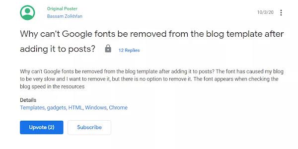 Update Blogger 2020 dan bug