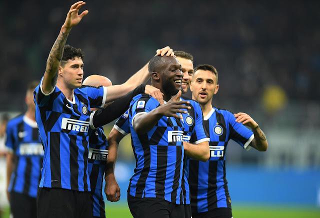 Video Cuplikan Gol: Inter Milan 4-0 Genoa (Serie A)