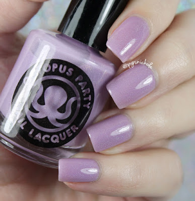 Octopus Party Nail Lacquer Easy Bake Coven
