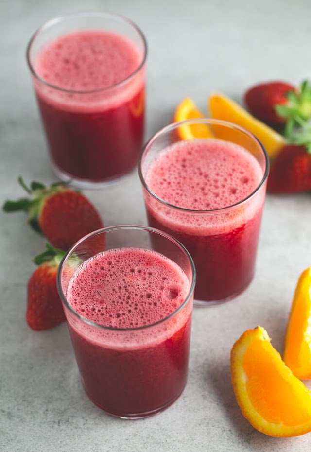 Juice For Valentine's Day