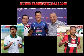 Transfer Pemain Liga 1 2019 Putaran Kedua