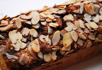 Gâteau courge-amandes-cannelle