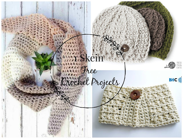 Little Treasures: 6 Free One Skein Crochet Projects