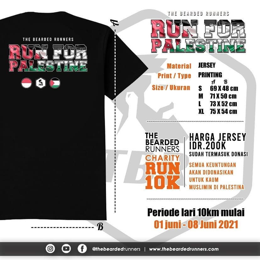 TBR - Run for Palestine • 2021