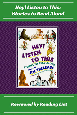 Hey! Listen to This by Jim Trelease  a Children's Corner feature on Reading List