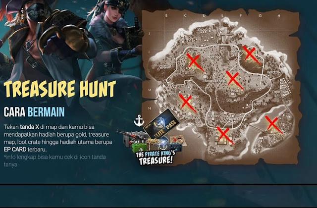 Trip Free Fire Cara Mendapatkan Elite Pass Fire di Season 19 Gratis juga Di Even Pirate King, Langsung Menang