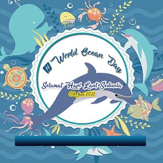 poster ucapan  selamat hari laut sedunia png hd - kanalmu