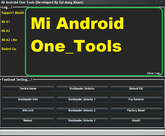 Mi Android One_Tools Bootloader Frp Edl Crack Tool 2019