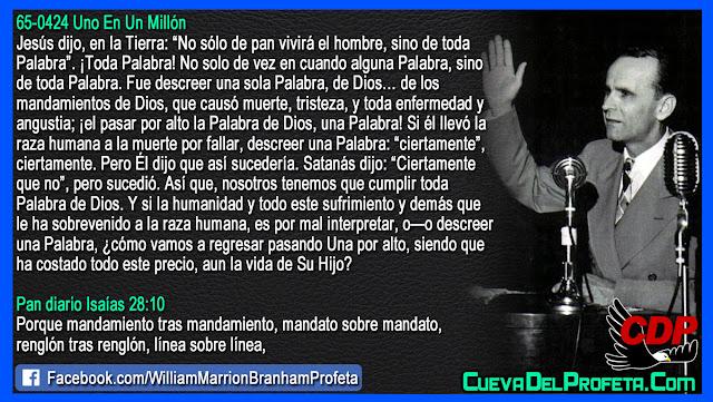 Él llevó la raza humana a la muerte - William Branham en Español