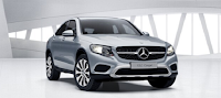 Mercedes GLC 300 4MATIC Coupe 2016 màu Bạc Diamond 988