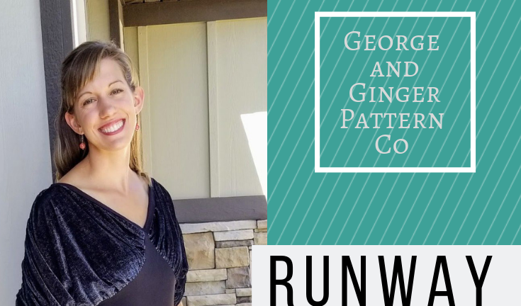 So Jess Sew -  George and Ginger Runway Top/Dress Hack Mash