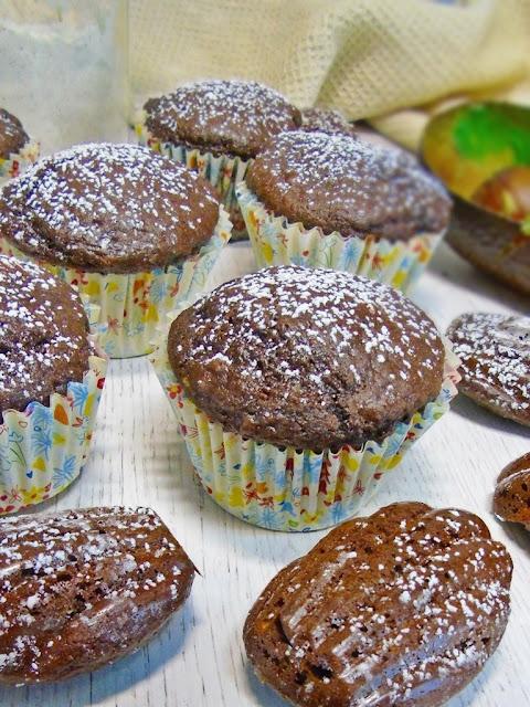 cocoa-and-avocado-cupcakes, magdalenas-de-cacao-y-aguacate