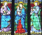 Stained GLASS WINDOW Film for Churches