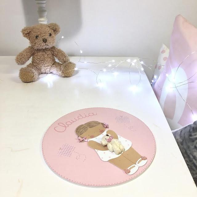 Placas de puertas personalizadas,  para habitaciones infantiles