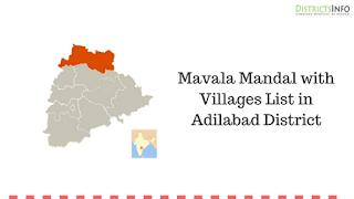 Mavala Mandal with Villages List in Adilabad District