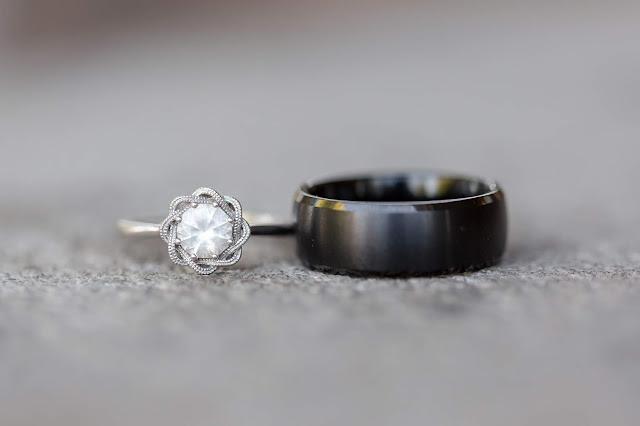 Wedding Rings at Shenandoah Mill