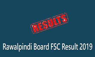 Rawalpindi Board FSC Result 2019