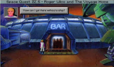 Pantallazo Space Quest IV.5 - Roger Wilco And The Voyage Home