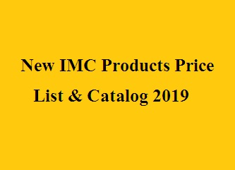 Products Price List: New IMC Products Price List & Catalog