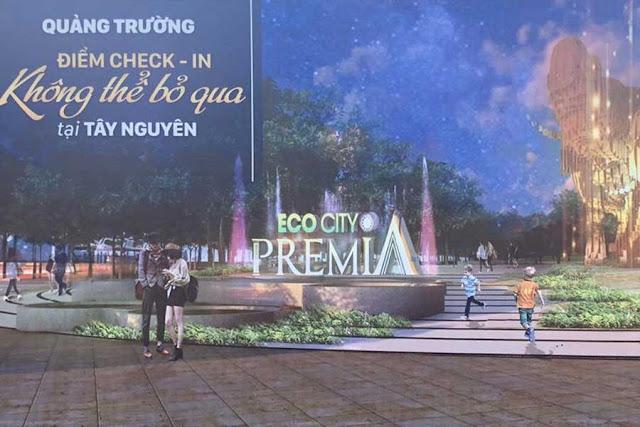 Quảng trường voi - dự án Premia Eco