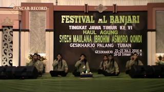 Mp3 Sholawat Asmaul Husna - Sekar Kedaton (Festival Al Banjari Asmoro Qondi 2016)