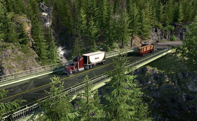 American Truck Simulator terá nova atualização do mapa na próxima terça-feira