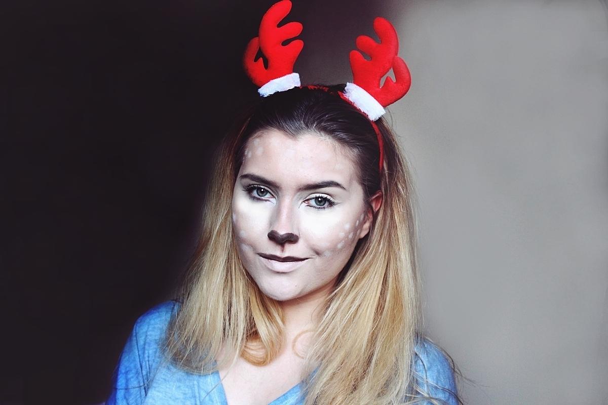 Makijaż świąteczny, na Halloween