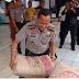Musibah Gempa di Pandeglang dan Lebak, Polda Banten Sumbang 600 Sak Semen