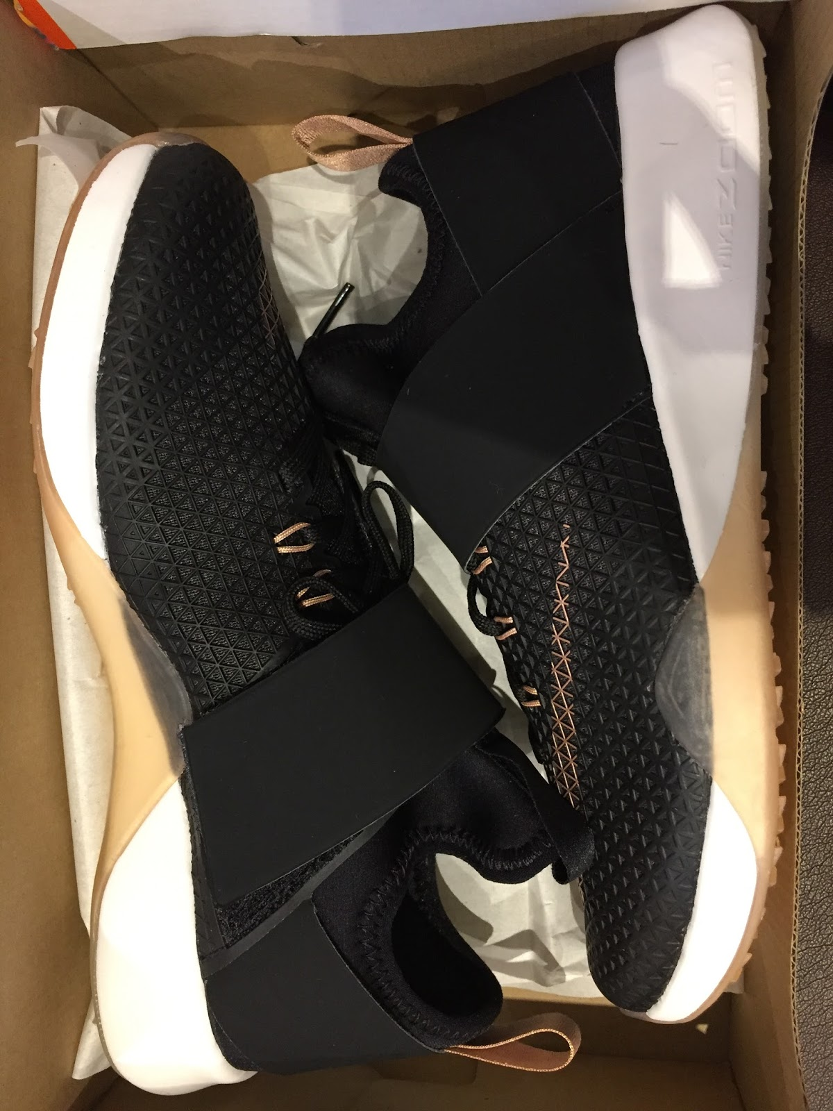 Petite Impact  Fit- Nike Air Zoom Strong Rose Gold   Metcon 2 Rose Gold e79a8cb15