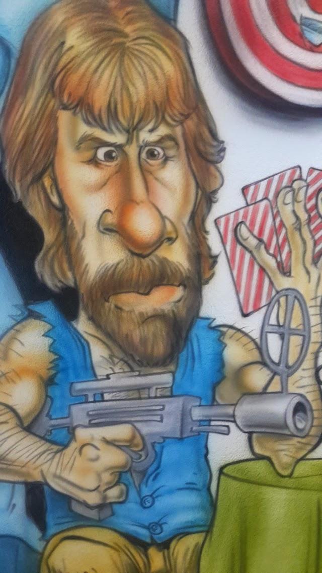 Chuck Norris - 3ª Rodada do #CartolaFC: Grafitando defesas