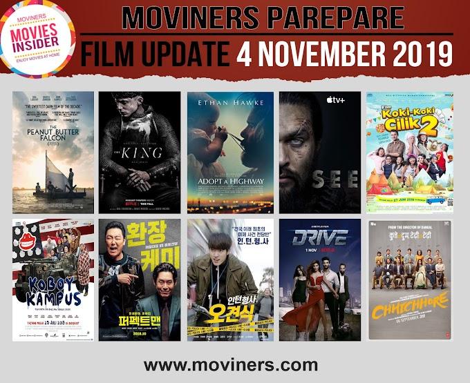 FILM UPDATE 4 NOVEMBER 2019