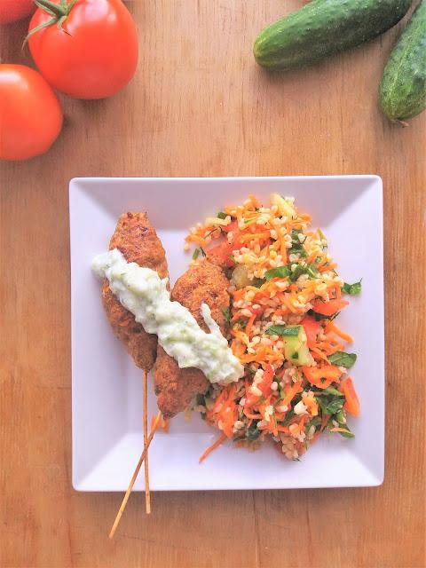 Szaszłyki z mięsa mielonego (Kofta) / Kofta Kebabs