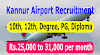 Kannur Airport Recruitment  | Baggage Screening Executive & Fire & Rescue Operators Posts