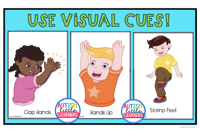 Visual Cues with Children With Autism