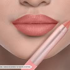 Review Wardah Instaperfect Gloss Chic Lip Crayon Rhythim No 1
