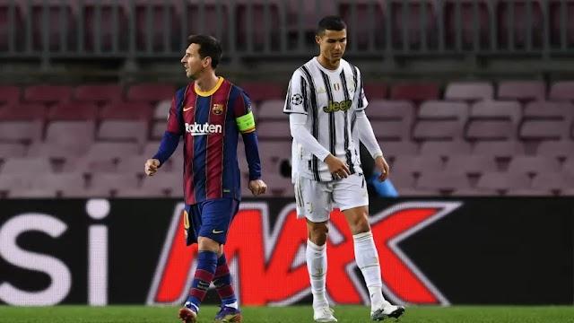 Messi e CR7 no Barcelona é o sonho do  Presidente do Barcelona juntar os dois craques