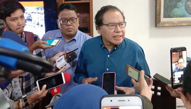Rizal Ramli: Sekali Lagi Saya Bertanya, Mr. Presiden Bekerja untuk Siapa?