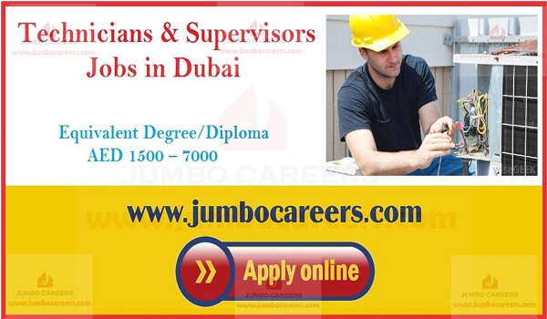 Latest UAE job openings, Gulf job vacancies,