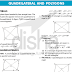 Quadrilateral Polygons Definitions Formulas Solved Examples Material PDF