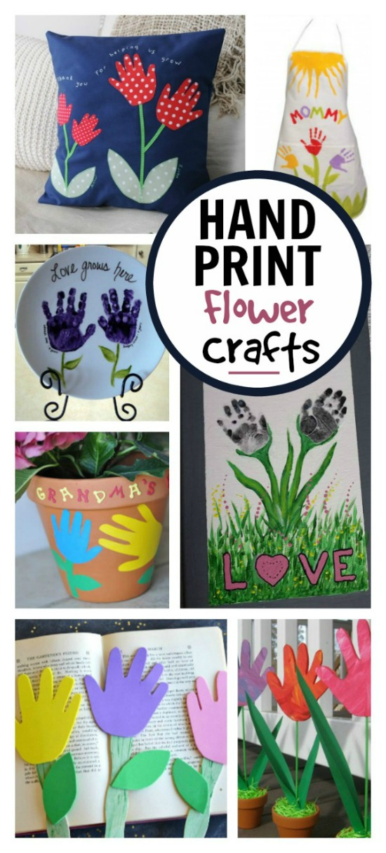 HANDPRINT FLOWER CRAFTS FOR KIDS #springcraftsforkids #handprintcrafts #handprintflowers #handprintartkids #springactivitiesforkids #flowercraftsforkids #floweractivitiesforkids #springflowercrafts #springflowers #artsandcraftsforkids #craftsforkids #activitiesforkids #kidscrafts