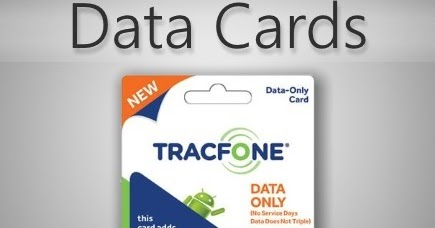how to get data with tracfone