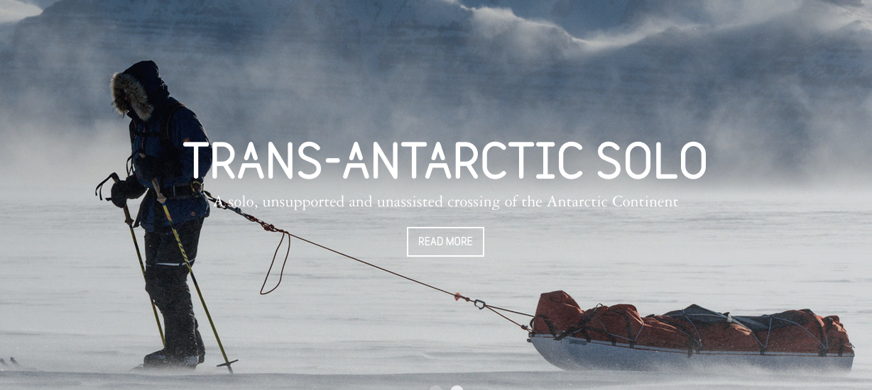 LivingGeography: Ben Saunders - trans-Antarctic expedition