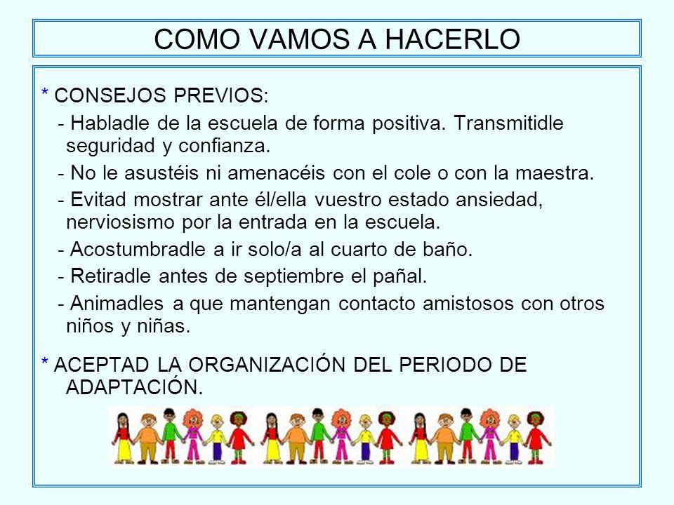 Educar desde la familia per odo de adaptaci n for Adaptacion jardin infantil