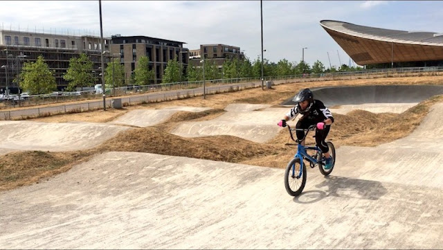 FitBits | BMXercise at Lee Valley VeloPark - Tess Agnew fitness blogger