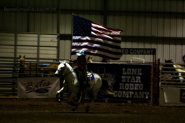 #rodeo #bullriding #cowboys #cows #horses #presentingtheflag #usflag #flag