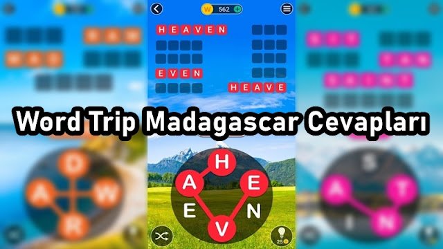 Word Trip Madagascar Cevaplari