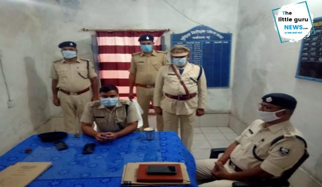 एसपी ने किया चकिया पुलिस निरीक्षक कार्यालय का निरीक्षण