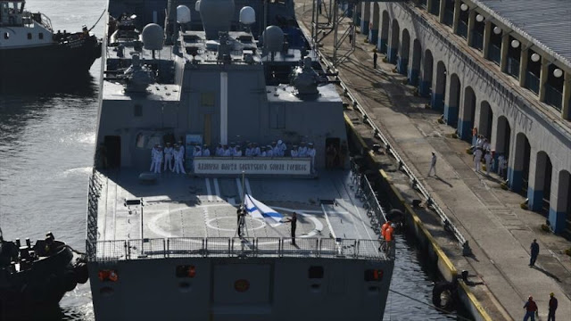 Buque ruso llega a La Habana en medio de tensión entre Cuba y EEUU