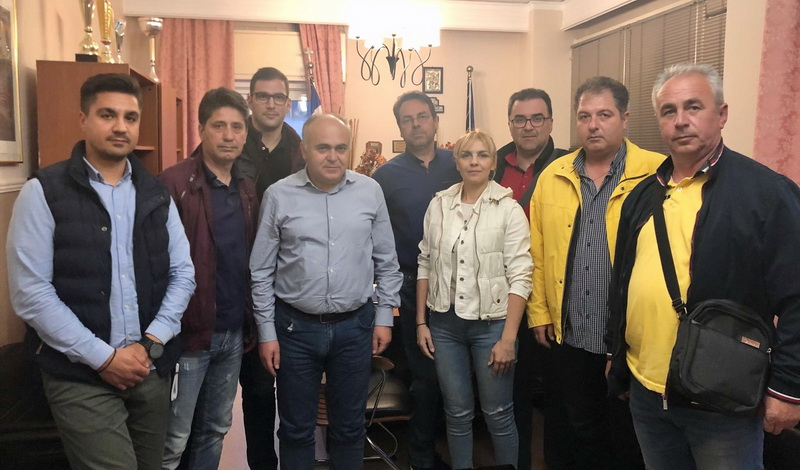 Συνάντηση συνδικαλιστών αστυνομικών με τον Αστυνομικό Διευθυντή Αλεξανδρούπολης Λάμπρο Τσιάρα